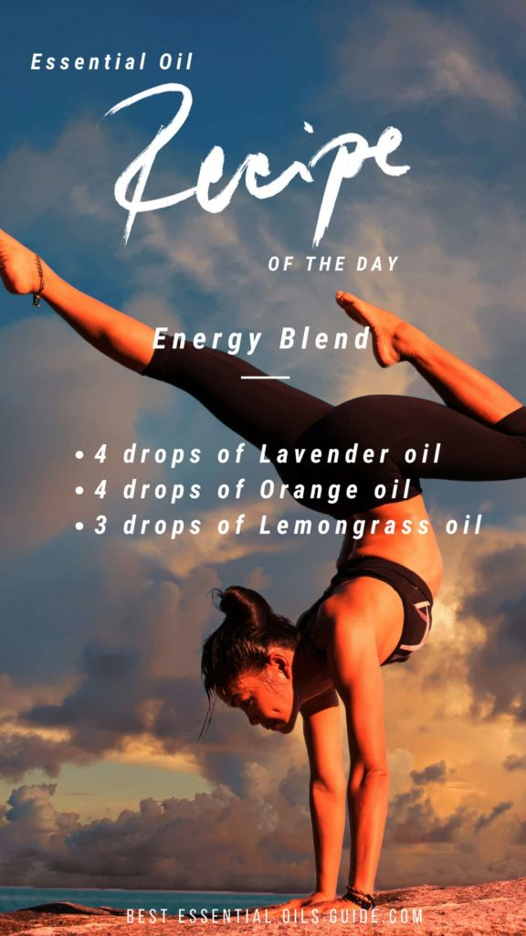 Energy Blend - Essential Oil Blending Chart - Essential oil mixes